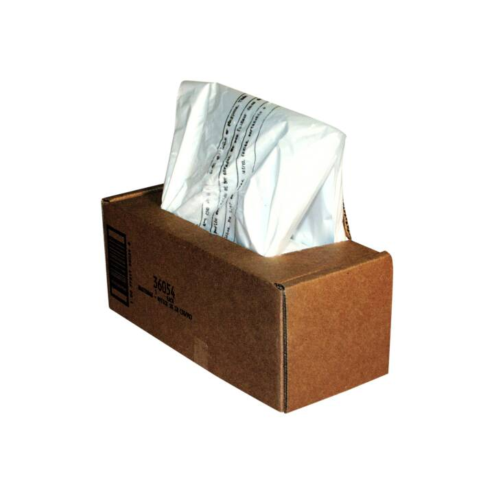FELLOWES Aktenvernichter Abfallsäcke, 75 l, 50 Stk.