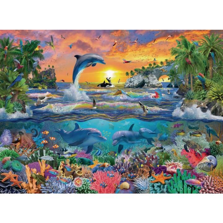 Puzzle Tropisches Paradies 100 Teile XXL