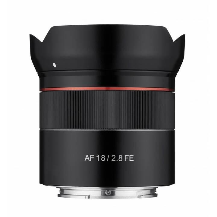 SamYang AF 18mm f / 2.8 zu Sony E CSC /