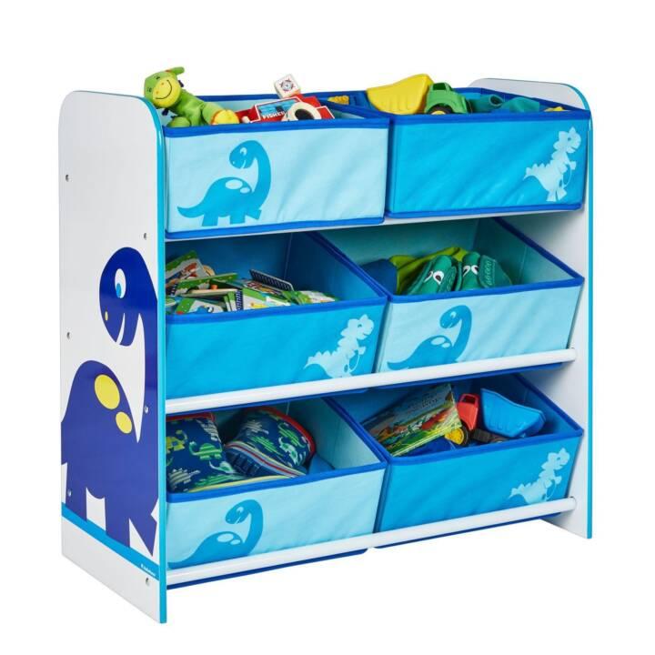 WORLDS APART Rangement pour jouets Dinos