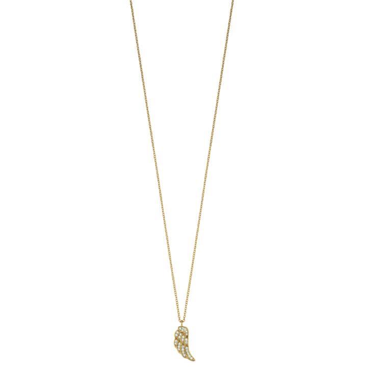 ENGELSRUFER Wing Halskette (Zirkonia, 925 Silber, 45 cm)