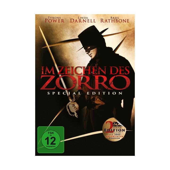 Im Zeichen des Zorro (DE, EN)