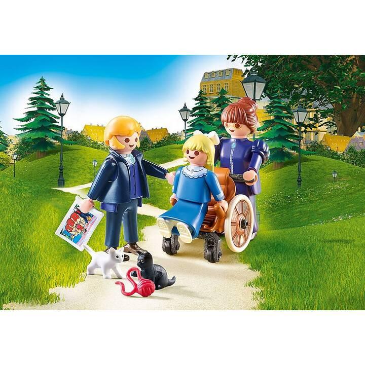 PLAYMOBIL Heidi Clara con il Signor Sesemann e la Signorina Rottenmeier (70258)