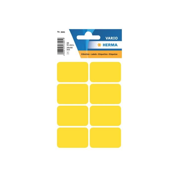 HERMA Etichette (26 x 40 mm, 5 foglio)