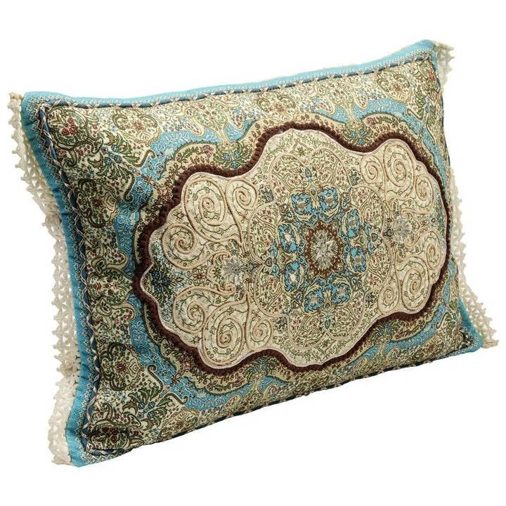 KARE Arabeske Cuscino (60 cm x 40 cm, Multicolore)