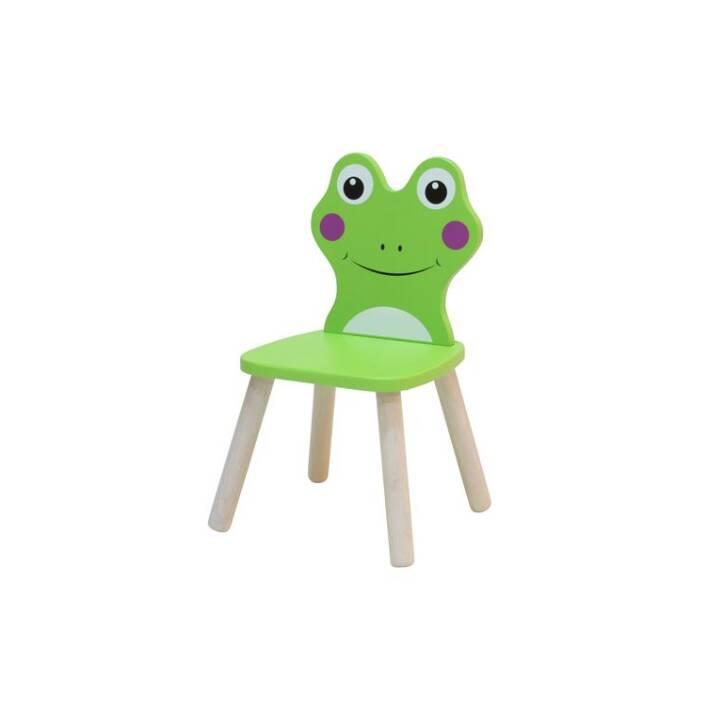 SPIELBA Kinderstuhl Frosch  (Grün)