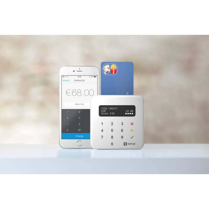 SUMUP Chip Chip Card Reader Air Card Terminal bianco