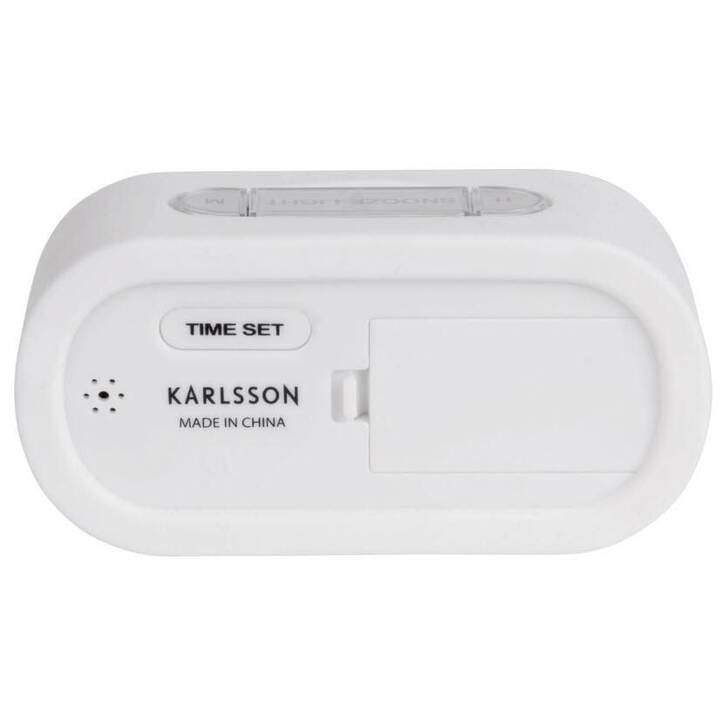 KARLSSON Klassischer Wecker (Weiss)