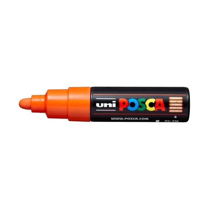 UNI-BALL Pennarello indelebile Posca (Arancione, 1 pezzo)