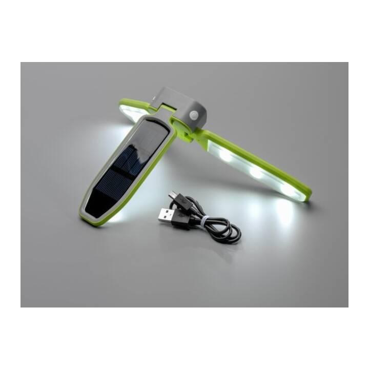 Foldable Solar-Lamp (Grün, Grau, Schwarz)