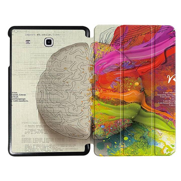"""EG MTT Sacoche à comprimés avec couvercle rabattable pour Samsung Galaxy Tab E 9.6"""" - Brain"""