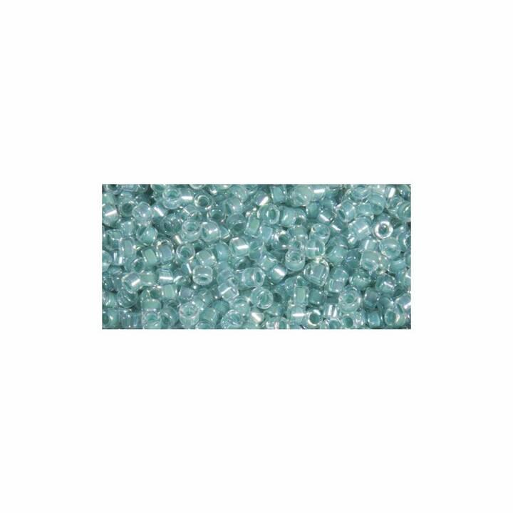 RAYHER Delica-Rocailles 1.6 mm Perle (Vetro, Turchese)
