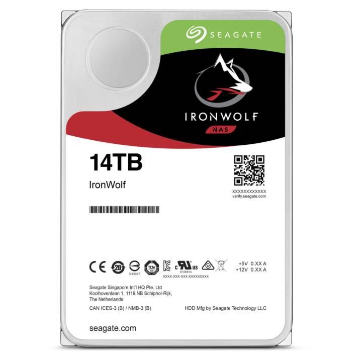 "SEAGATE IronWolf 14TB 3.5""."