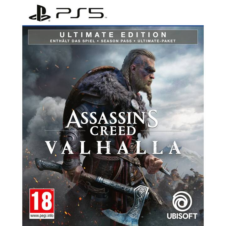 Assassin's Creed Valhalla - Ultimate Edition (DE, FR, IT)