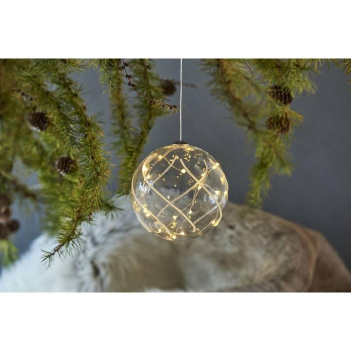 SIRIUS LED Weihnachtskugel Vein 10cm