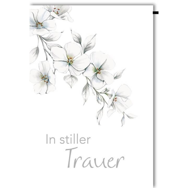 BRAUN + COMPANY Trauerkarte Blütenzweig