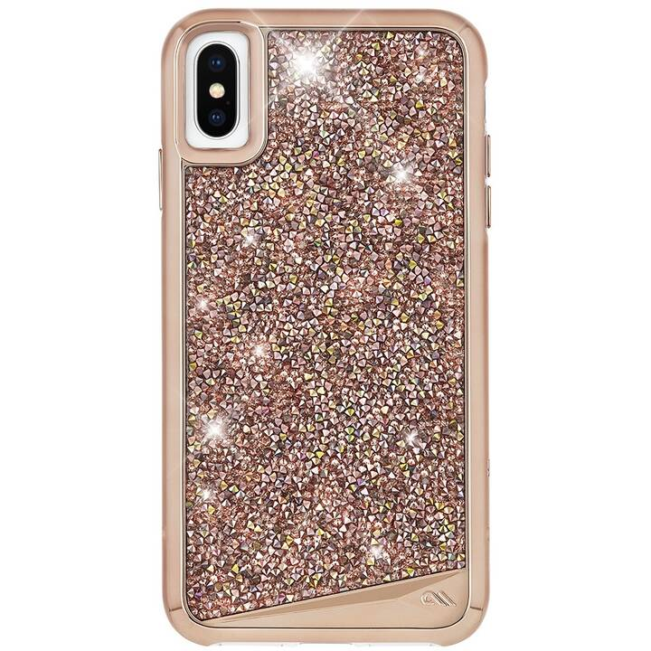 CASE-MATE Backcover Brilliance (iPhone XS, iPhone X, Roségold)