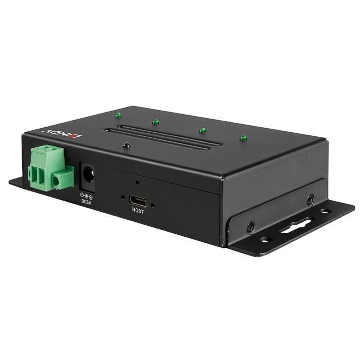 LINDY 43094 (4 Ports, USB Type-C, USB Type-A)