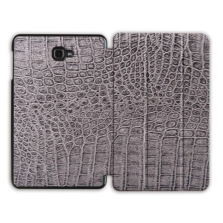 """EG MTT Sacoche à comprimés avec housse pliable Smart pour Samsung Galaxy Tab A 10.1"""" (2016) - Snake Skin"""