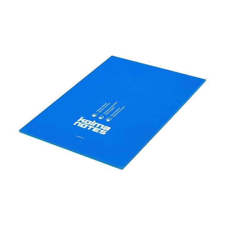 KOLMA NOTES A4 1x50 feuille bleu