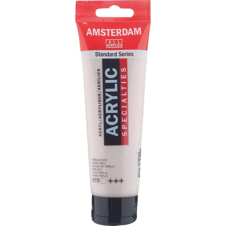 TALENS Colore acrilica Amsterdam  (120 ml, Rosso)