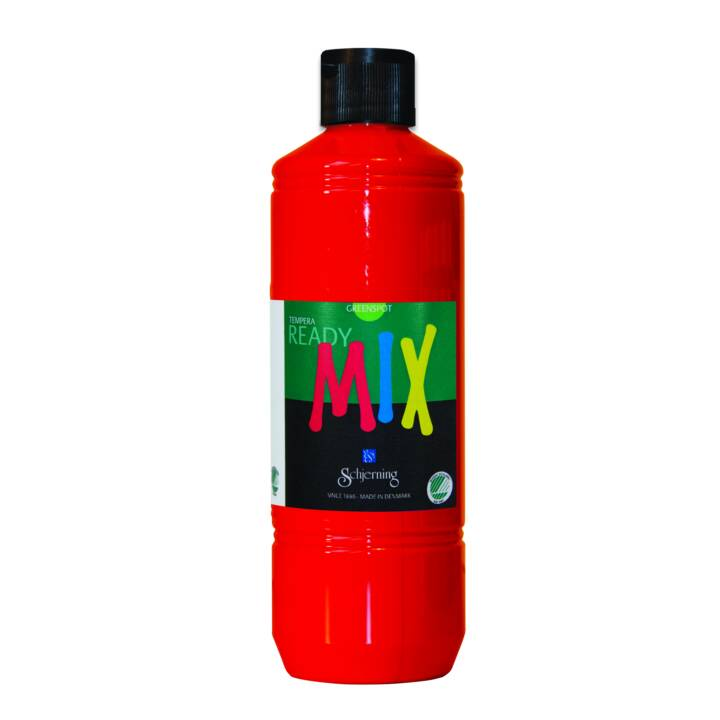 SCHJERNING Peinture pour bricolage ReadyMix (500 ml, Rouge)