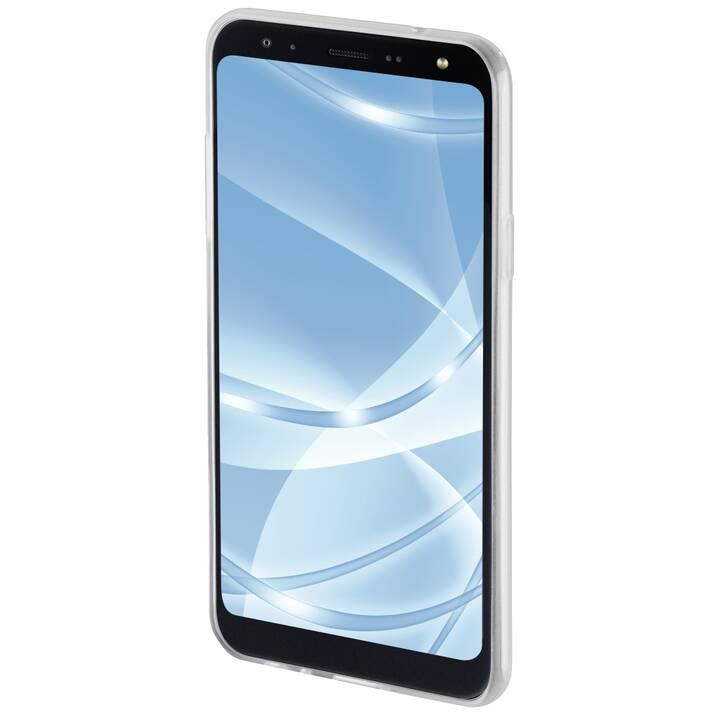 HAMA Backcover Crystal Clear (LG K40, Transparente)