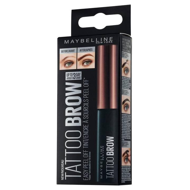 MAYBELLINE 3 Dark Brown (Augenbrauen Färbemittel permanent, Braun)