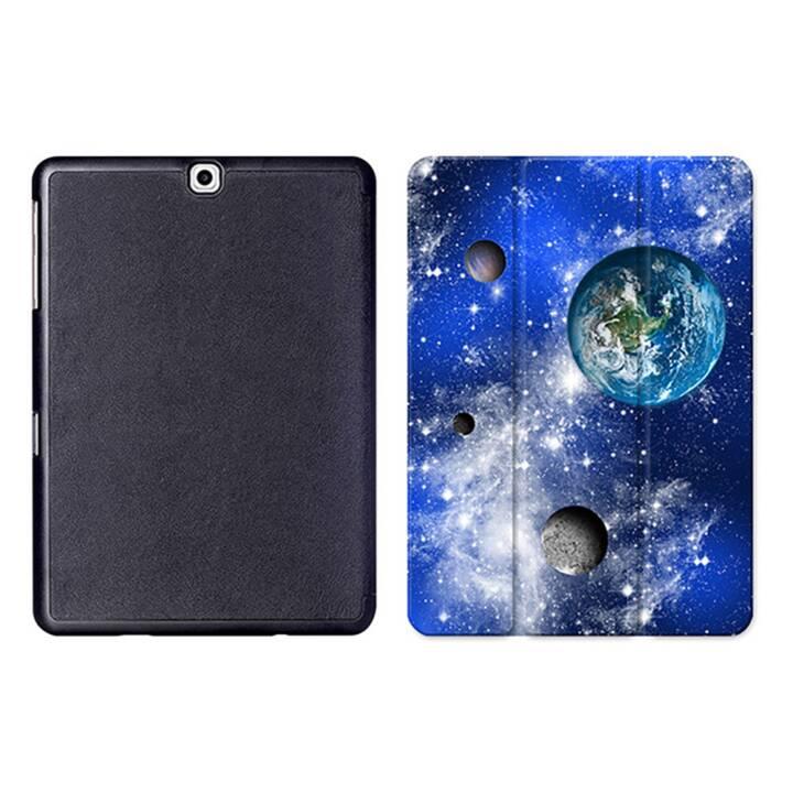 """EG MTT Sacoche à comprimés avec housse Smart pliable pour Samsung Galaxy Tab S2 9.7"""" MTT - Universe"""