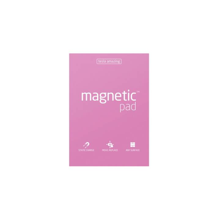 MAGNETIC Notes autocollantes (148 mm x 210 mm, Pink)