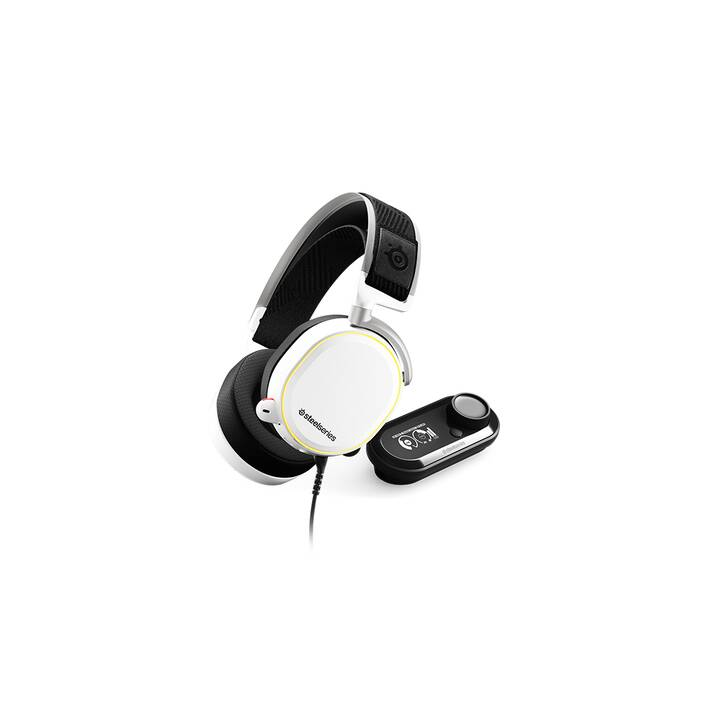 STEELSERIES Arctis Pro + GameDAC (Over-Ear, Weiss)