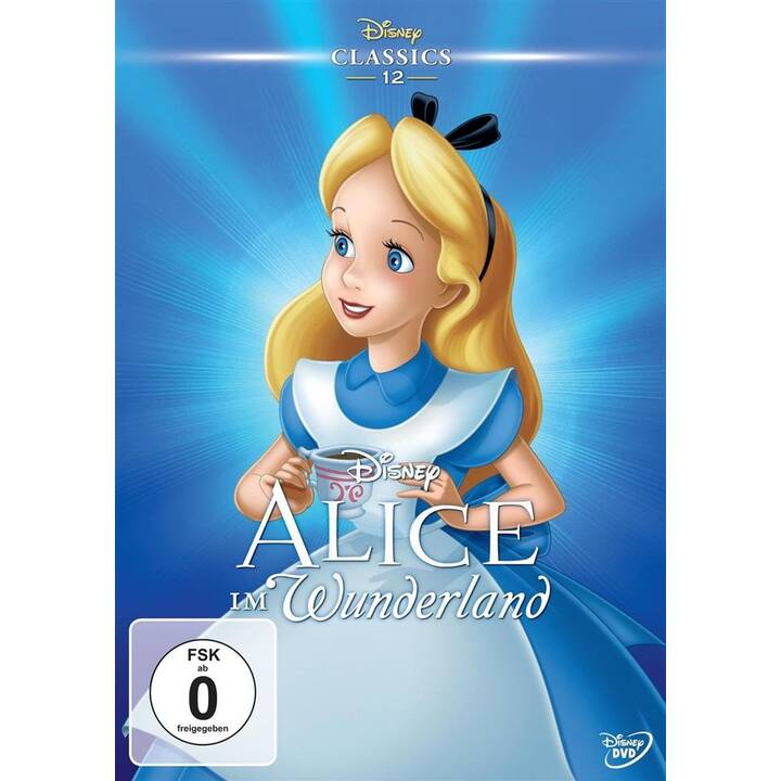 Alice im Wunderland (DE, RU, EN)