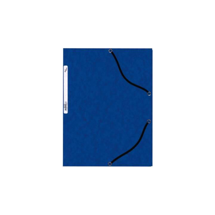 Cartella elastica BÜROLINE A4 blu