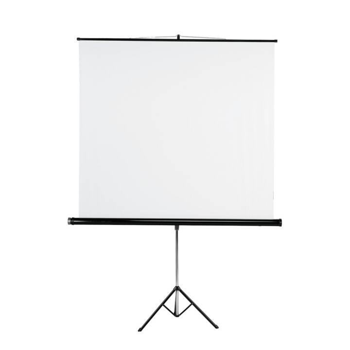 HAMA Leinwand mit Stativ 155 x 155 cm, White