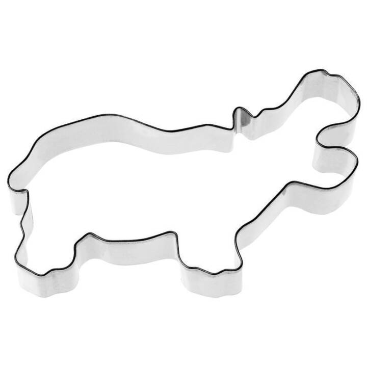 PADERNO Ausstechform (Nilpferd)