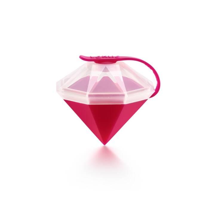 LÉKUÉ Eiskristall Diamant Fuchsia