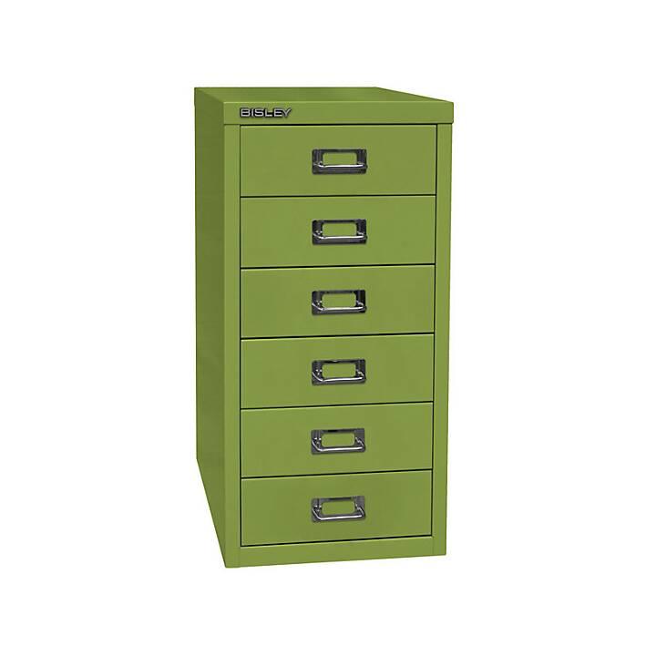 BISLEY MultiDrawer Schubladenbox (A4, Grün)