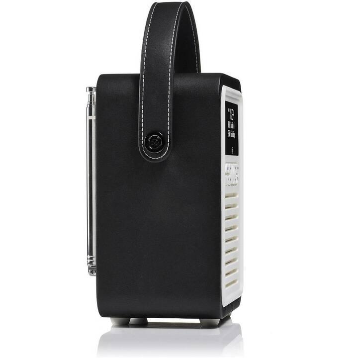 VIEW_QUEST VQ Retro Mini Radio digitale (Nero, Bianco)