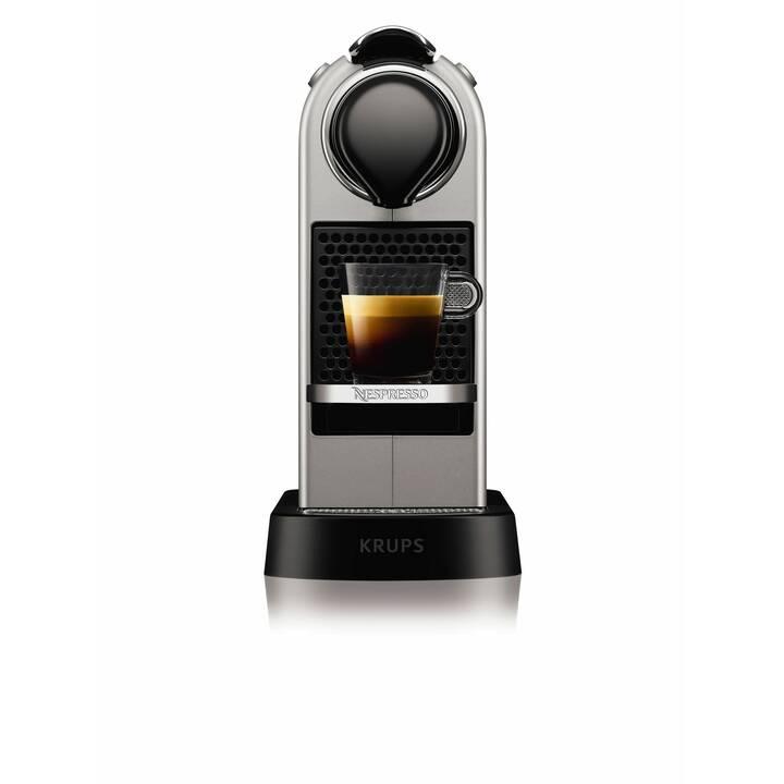 KRUPS Citiz XN741B.CH (Nespresso, Argent)