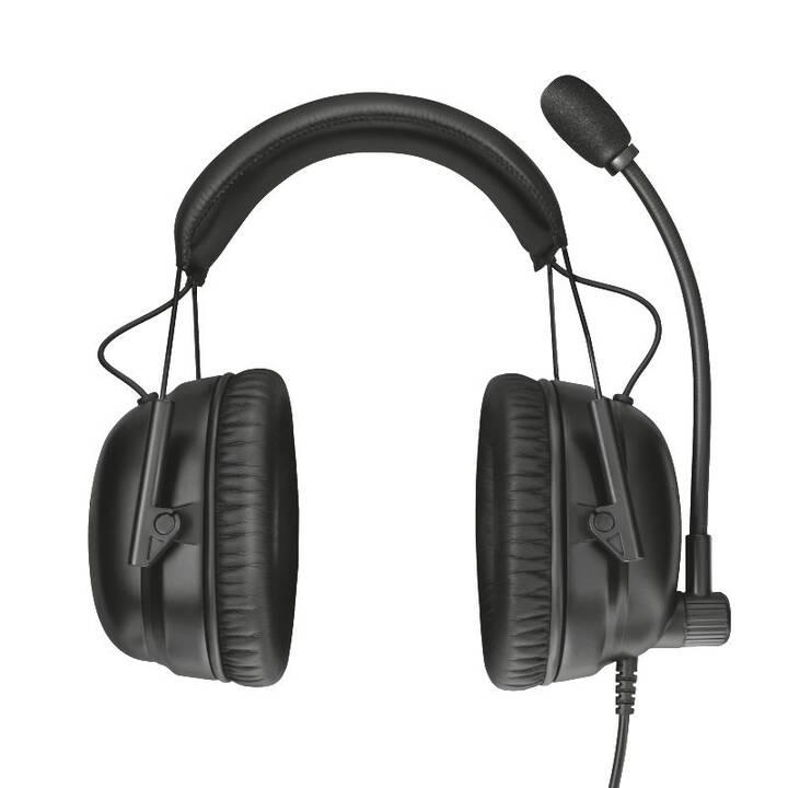 TRUST GXT 444 Wayman Pro (Over-Ear, Schwarz)