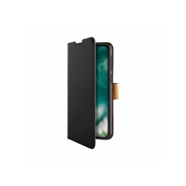 XQISIT Flipcover Slim Wallet Selection (Galaxy A51, Schwarz)