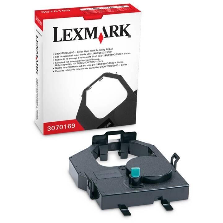 Nastro re-inchiostro LEXMARK, nero