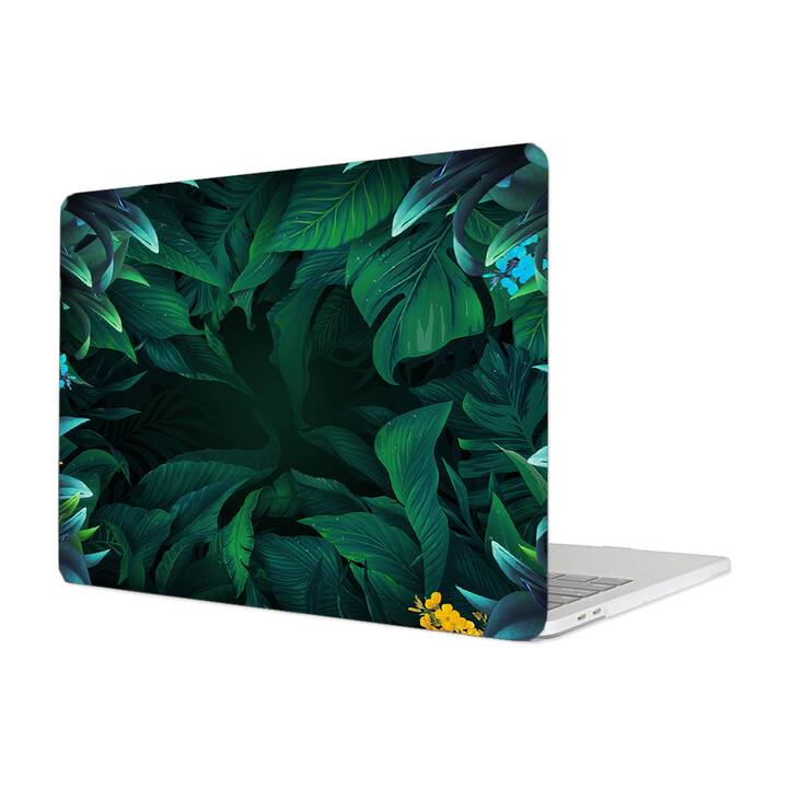 "EG MTT Cover per Macbook Pro 13"" Not Touchbar (2016-2018) - Foglie"