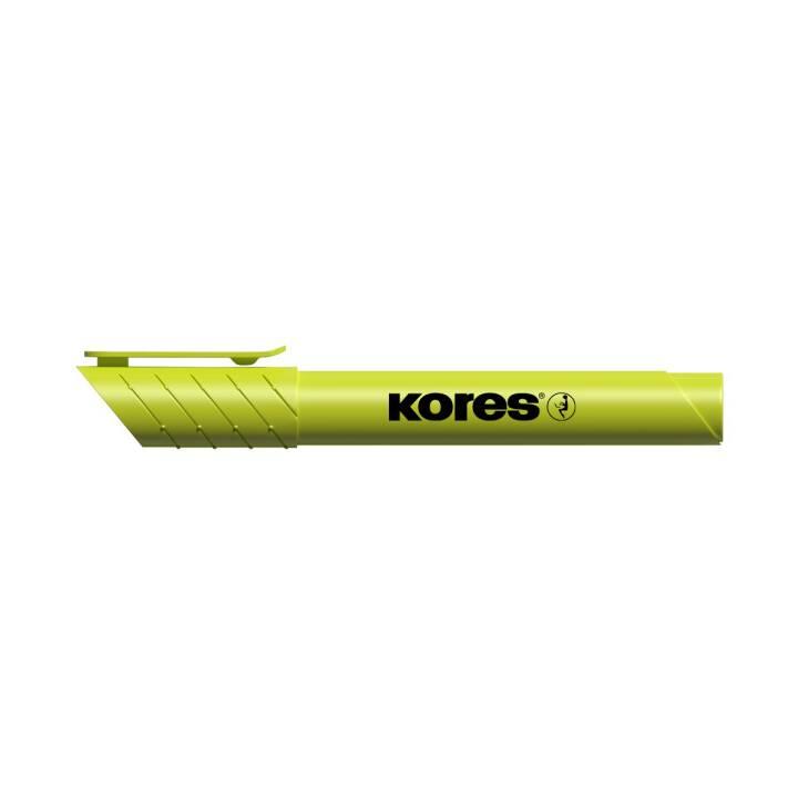 KORES Textmarker High Liner Plus (Gelb, 1 Stück)