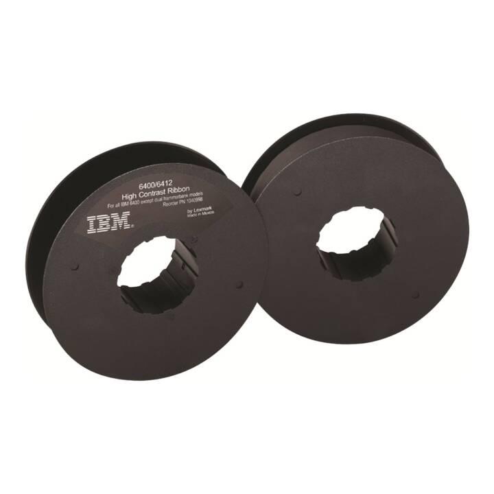 LEXMARK Ruban pour IBM 6412, Noir