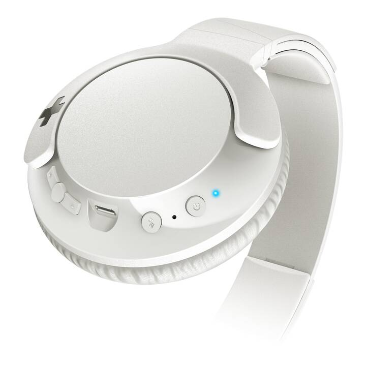 PHILIPS SHB3175WT (Over-Ear, Bluetooth 4.1, Blanc)
