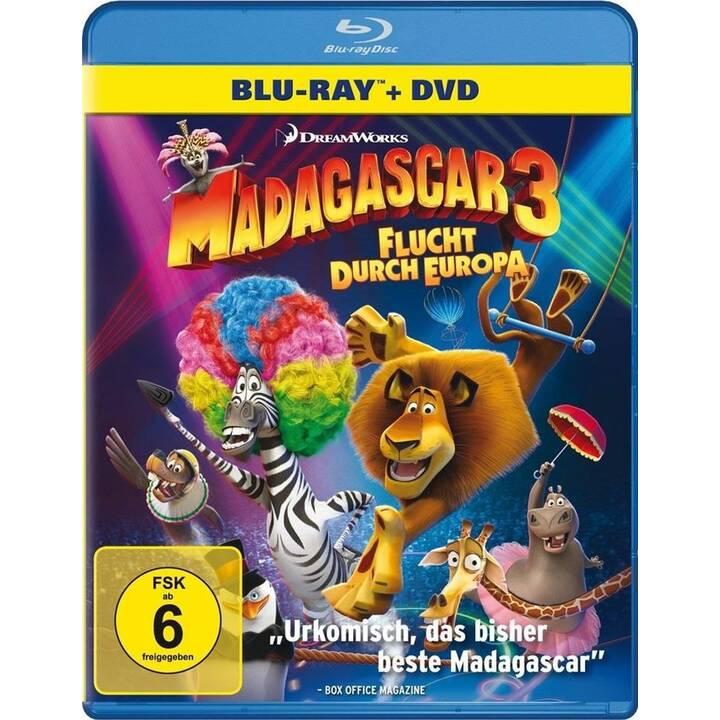 Madagascar 3 - Flucht durch Europa (IT, NL, EN, FR)