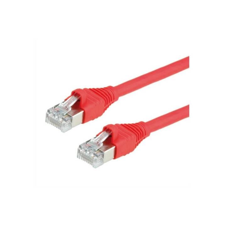 Cavi DÄTWYLER Cavi S/FTP Cat.6a 7,5m 7,5m Cavo di rete rosso 7,5m