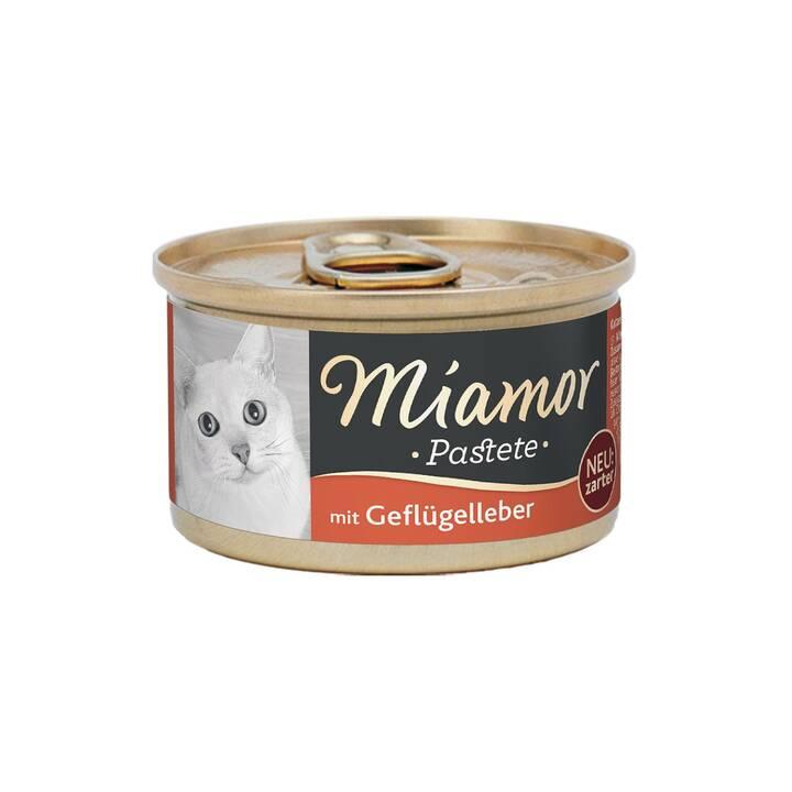 MIAMOR Pastete (Adulto, 85 g, Pollame, Fegato)