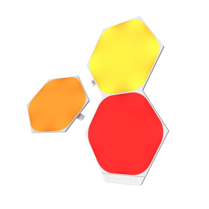 NANOLEAF LED Stimmunglicht Hexagon Panel 3x (Mehrfarbig)